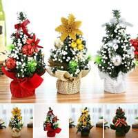 Desk Table Top Mini Christmas Xmas Christmas Tree Small Party Ornaments Decors