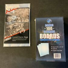 500 Ultra Pro Current COMIC BOOK Storage Bags And Boards MODERN New