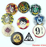 x10 Harry Potter Hogwarts Badges Pins School Accessories Gryffindor Set Lot