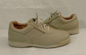 Rockport Prowalker K71110 Men's 8W Size White/Wheat Casual Shoes