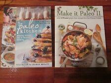 PALEO KITCHEN / MAKE IT PALEO, 2 BOOK LOT, FREE SHIPPING