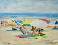 11X14 Original Painting Askart Listed Artist Nino Pippa S. Tropez French Riviera