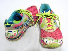 Asics Womens 9.5 Gel  Noosa Tri 7 Running Sneakers Multicolor Training Athletic