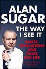 The Way I See It, Very Good, Sugar, Alan Book