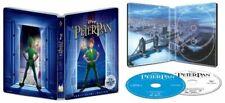 New Disney Peter Pan Anniversary Edition Blu-ray / DVD / Digital Copy Steelbook