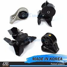 OEM Engine Motor & Trans Mount Set 4PCS Fits 01-06 Hyundai Santa Fe 2WD 2.7L A/T