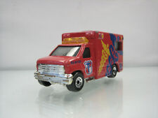 Diecast Matchbox Ambulance Van 1996 Red Good Condition