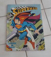 SAGEDITION  Superman  La harpe du malin    format géant ! sep9b