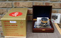 "Leica 10050 - Leica R3 Gold Kit Summilux 1.4/50mm Gold ""Sammlerstück"" - OVP!"
