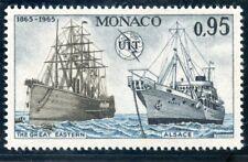 STAMP / TIMBRE DE MONACO N° 673 ** LE GREAT EASTERN ET L'ALSACE / BATEAUX