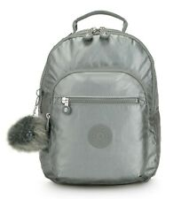 Kipling CLAS SEOUL S Backpack with Tablet Compartment - Metallic Stony
