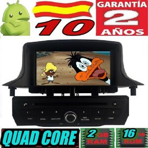 "ANDROID 10 RENAULT MEGANE III 3 2009-2014 RADIO 7"" COCHE GPS CAR WIFI 3G RADIO"