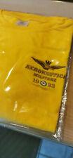 AERONAUTICA MILITARE TSHIRT Frecce Tricolori maglietta GIALLA taglia L