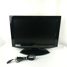 Sharp Lc-19Dv24U 720p Tv Lcd Hdtv with Built In Dvd w/ Side Loading Dvd Player