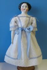 """Antique Style Dress & Pettycoat For A China/Parian Or Fashion Doll 16""""-16 1/2"""""""