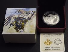 2014 $20 Fine silver-The Legend of «Nanaboozhoo - w/Cao and Box not sale tax