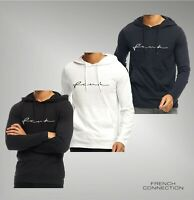 Mens French Connection Straight Long Sleeve Top Jersey Hoody Sizes from S to XXL