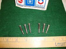 67 68 69 CAMARO CHEVELLE NOVA PARKING LAMP LENS SCREWS Z/28 L78 L89 COPO REFURBD