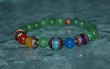 7 Chakra Bracelet Mala Beads Yoga Buddhist Jewelry Balancing & Healing Bracelet