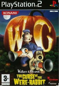 Wallace and Gromit The Curse of the Were-Rabbit PS2 PlayStation 2 Sealed|24HrDel