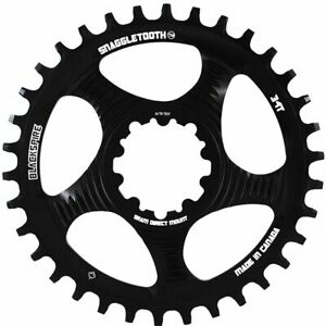 Chainring Snaggletooth 34t Direct Mount Sram Gxp Offset 6mm 421584450 Blackspire