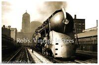 New York Central Train photo J-3 Hudson Railroad 20th Century LTD #4 art deco