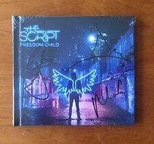 The Script Freedom Child DELUXE CD ALBUM Autographed SIGNED SEALED SOLD OUT