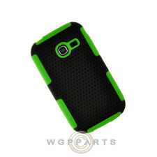 Samsung R480 Freeform 5 Hybrid Mesh Case Black/Green Cover Shield Shell