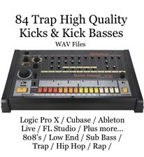 Trap Bass & Kicks Drums 808s Low End Distorted MPC Hip Hop RAP FL Studio WAV