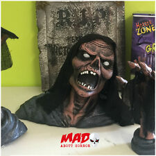 Interruptor de tierra Zombie de utilería, decoraciones al aire libre de Halloween Esqueleto Aterrador