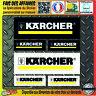 lot 6 Stickers autocollant KARCHER bricolage adhésif sponsor outillage decal