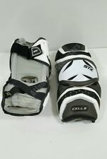 Stx Cell Ii (2) Lacrosse Arm Guards Xl Extra Large Black White Protective Gear