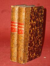 LES NUITS D'YOUNG - traduites de l'anglois par M. LE TOURNEUR - 2 vol - 1770
