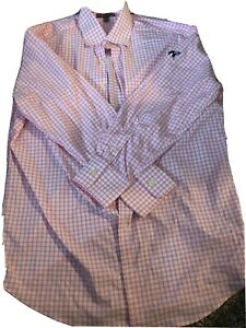peter millar summer comfort long sleeve Button Down With Secession Logo