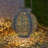LED Solarlampe Gartenlampe Außenlamp Solarleuchte Hängelaterne Laterne Lampe DE