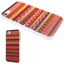 IPHONE Shell 4 Or 5 - Pattern Aztec Orange Be Fashion ( Case Cover Aztec)