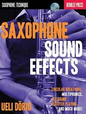 Ueli Dorig Saxophone Sound Effects Learn to Play Music Book & CD