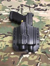 Carbon Fiber Kydex Holster Glock 19/23/32 Threaded Barrel Streamlight TLR-2