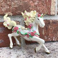 Unicorn Ornament Christmas Carlton NIB 1999 Can Display Year Round!