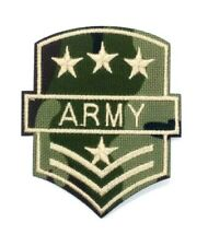 US Seller ARMY Embroidered Patch Badge Military Stars Insignia Iron-On 1528