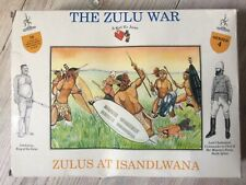 A Call To Arms Zulus at Isandlwana 16 x Plastic Soldier Kit 1:32 series 4 NEW