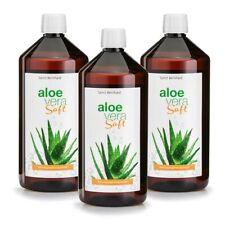 Aloe-Vera-Saft unverdünnt | IASC-Qualität | 3 x 1 Liter (7,90€/L) Sanct Bernhard