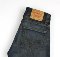 Levi's Strauss & Co Hommes 506 Standart Jeans Jambe Droite Taille W29 L32 AHZ224