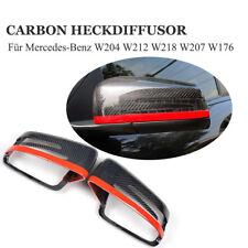Echt Carbon Spiegelkappen für Mercedes-Benz W204 W212 W218 W207 W176 Auto Tuning