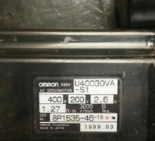 Omron Servo Motor R88M-U40030VA-S1 with 60days warranty