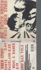 CD--DIE TOTEN HOSEN--FRISS ODER STIRB -MAXI-CD-