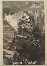 DIE WACHT AM RHEIN FRANCO-PRUSSIAN WAR HARPER'S WEEKLY 1870