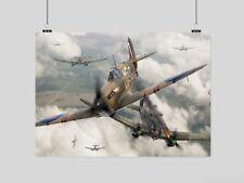 AIRFORCE//WAR//FIGHTER A3 SPITFIRE1 PLANE POSTER ART PRINT BUY2GET1FREE!