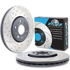 FRONT DRILLED GROOVED 288mm BRAKE DISCS FOR SEAT IBIZA ST 1.2 1.6 TDI TSI 02+