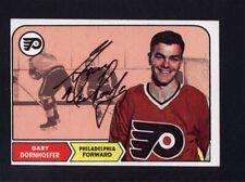 1968 Topps #94 Gary Dornhoefer Signed Auto Autographed Card JC LOA *528648